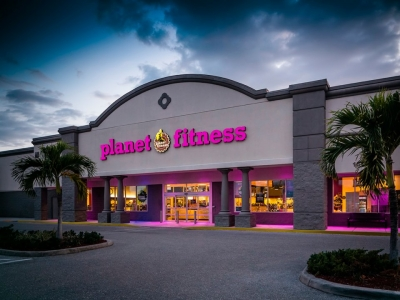 A man was arrested after he stripped naked to work out at a Planet Fitness gym